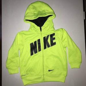 EUC Nike Infant THERMA FIT Hooded Jacket- 18 m